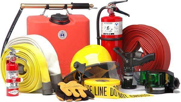 تجهیزات ایمنی آتش نشانی