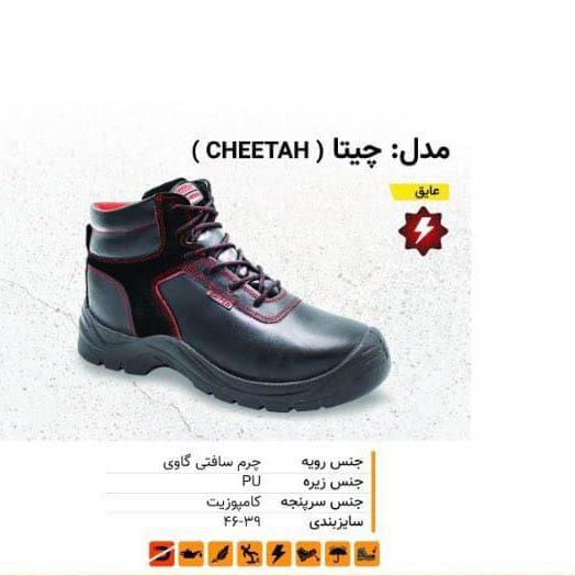 01. کفش عایق چیتا ( CHEETAH )